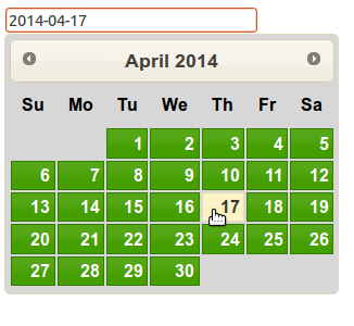 jquery ui date picker