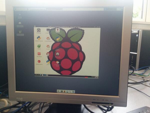A debian machine remote controlling a raspberry pi